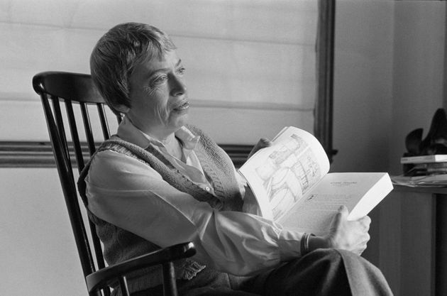 Ursula K. Le Guin in San Francisco in 1985.
