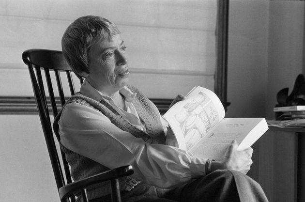 Ursula K. Le Guin in San Francisco in