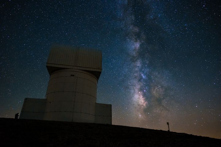 Milky Way Galaxy and the Aristarchos Telescope