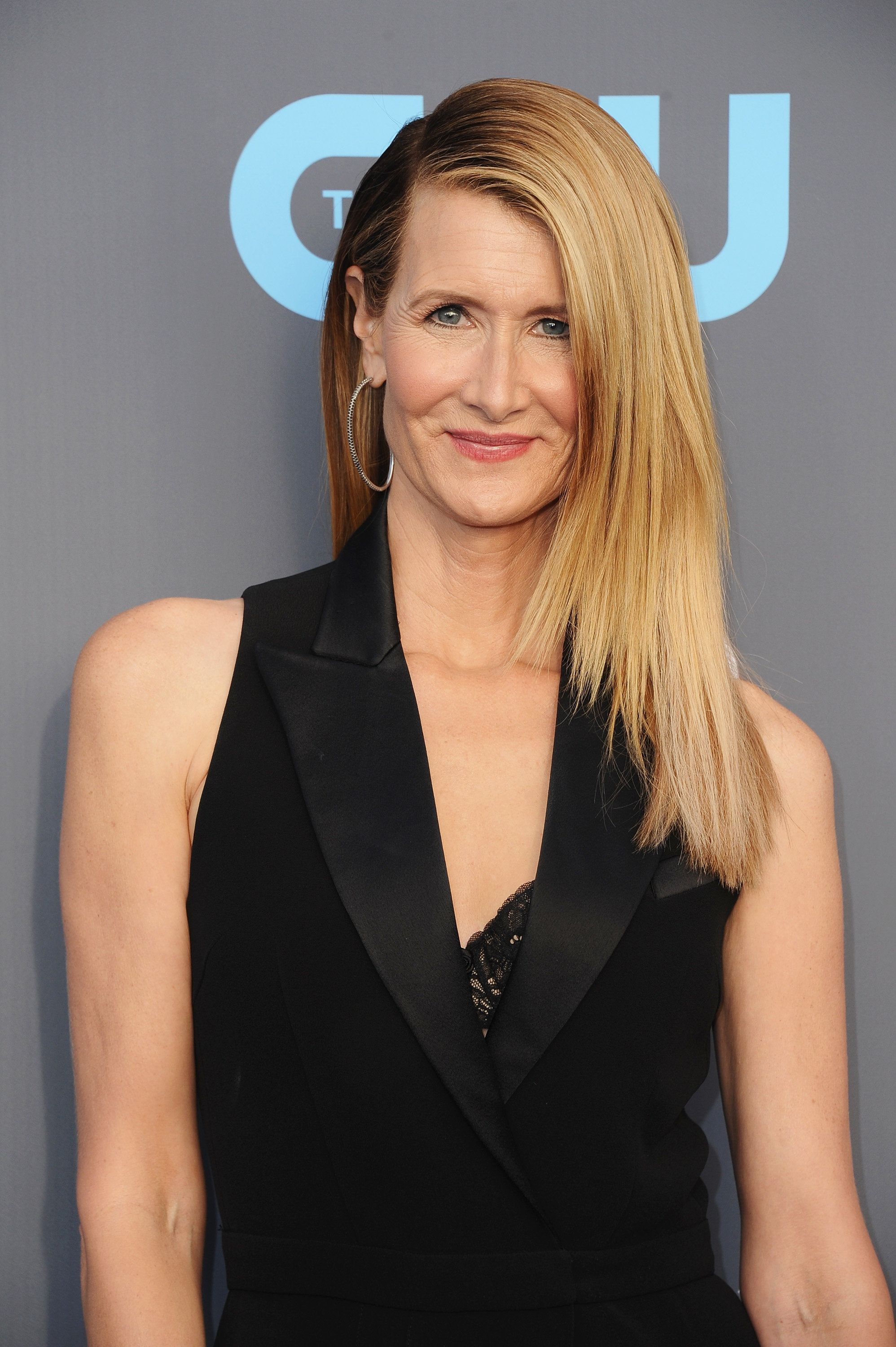 SANTA MONICA, CA - JANUARY 11:  Actor Laura Dern attends The 23rd Annual Critics' Choice Awards at Barker Hangar on January 11, 2018 in Santa Monica, California.  (Photo by Jon Kopaloff/FilmMagic)