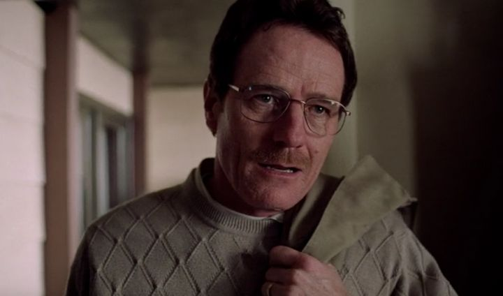 d43d5b3a63c Bryan Cranston plays Walter White in the pilot of