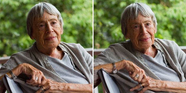 Legendary sci-fi author Ursula K. Le Guin died Tuesday at the age of
