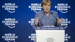 Merkel wiederholt beim Wirtschaftsgipfel in Davos Affront gegen