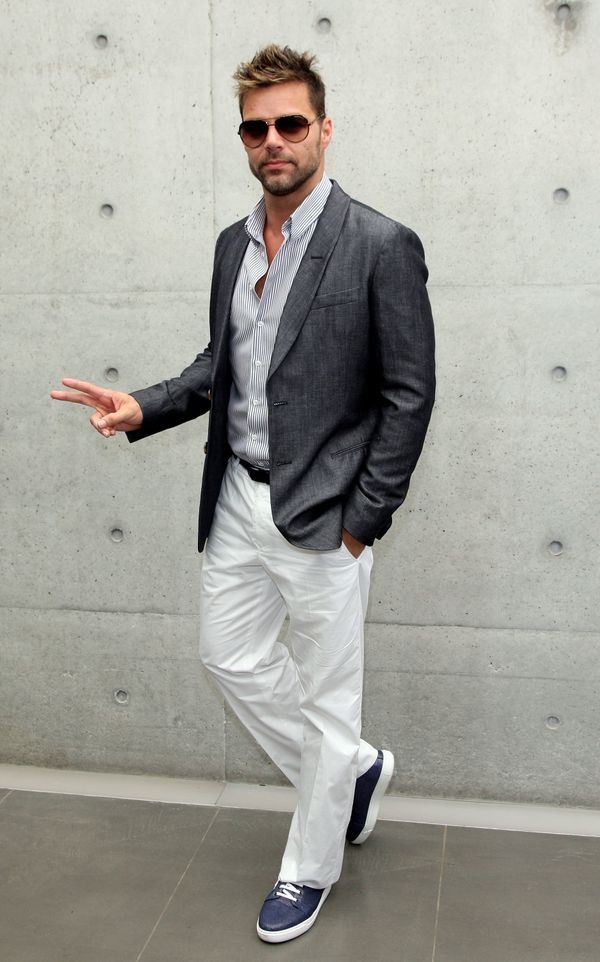 Ricky Martin's Style Evolution, From Menudo To Mullets And ...