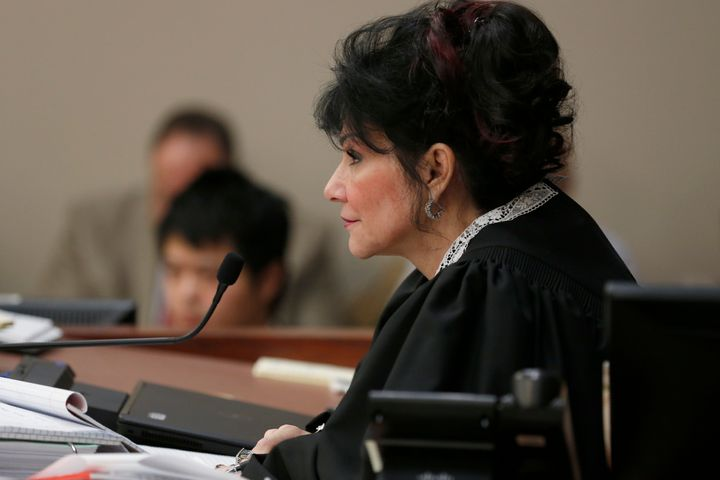 """Judge Rosemarie Aquilina said she considered it her """"honor and privilege"""" to sentenceformer USA Gymnastics doctor Larry"""