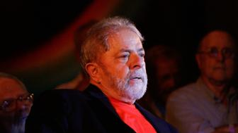 Former President Luiz Inacio Lula da Silva (PT), participates in an act that brings together artists and intellectuals in Casa de Portugal, Avenida Liberdade, central region, in defense of democracy and Lula's right to be a candidate in Sao Paulo, Brazil, on Thursday, Jan. 18, 2018.  (Photo by Fabio Vieira/FotoRua/NurPhoto via Getty Images)
