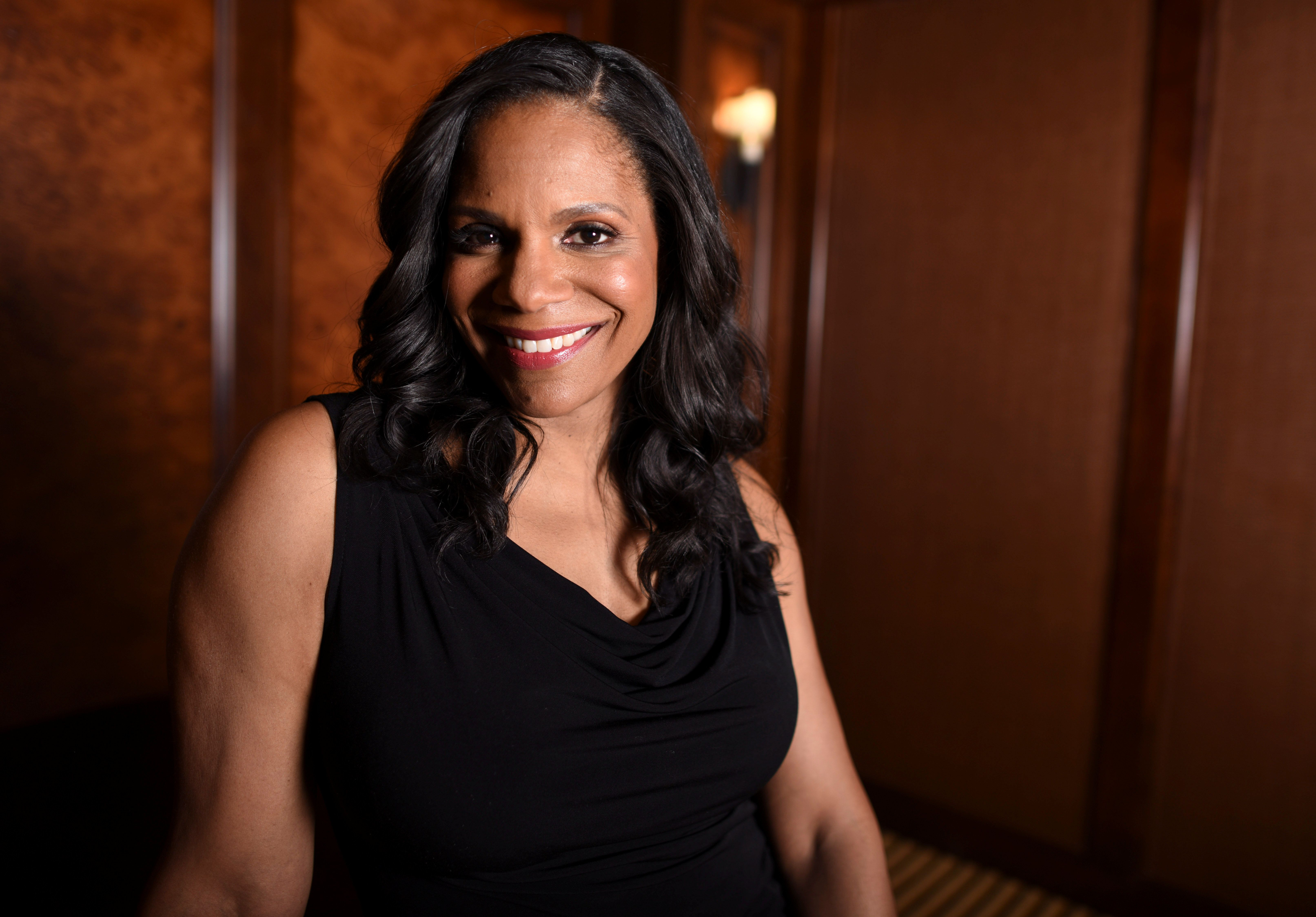 """Beauty and the Beast"" cast member Audra McDonald is photographed at the Montage hotel in Beverly Hills, California, U.S. March 5, 2017. REUTERS/Phil McCarten"