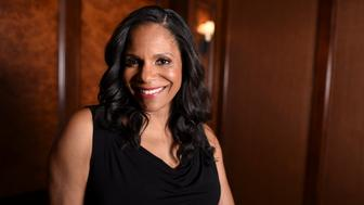 """""""Beauty and the Beast"""" cast member Audra McDonald is photographed at the Montage hotel in Beverly Hills, California, U.S. March 5, 2017. REUTERS/Phil McCarten"""