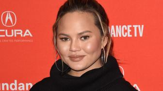 PARK CITY, UT - JANUARY 22:  Chrissy Teigen attends the 'Monster' Premiere during the 2018 Sundance Film Festival at Eccles Center Theatre on January 22, 2018 in Park City, Utah.  (Photo by C Flanigan/FilmMagic)