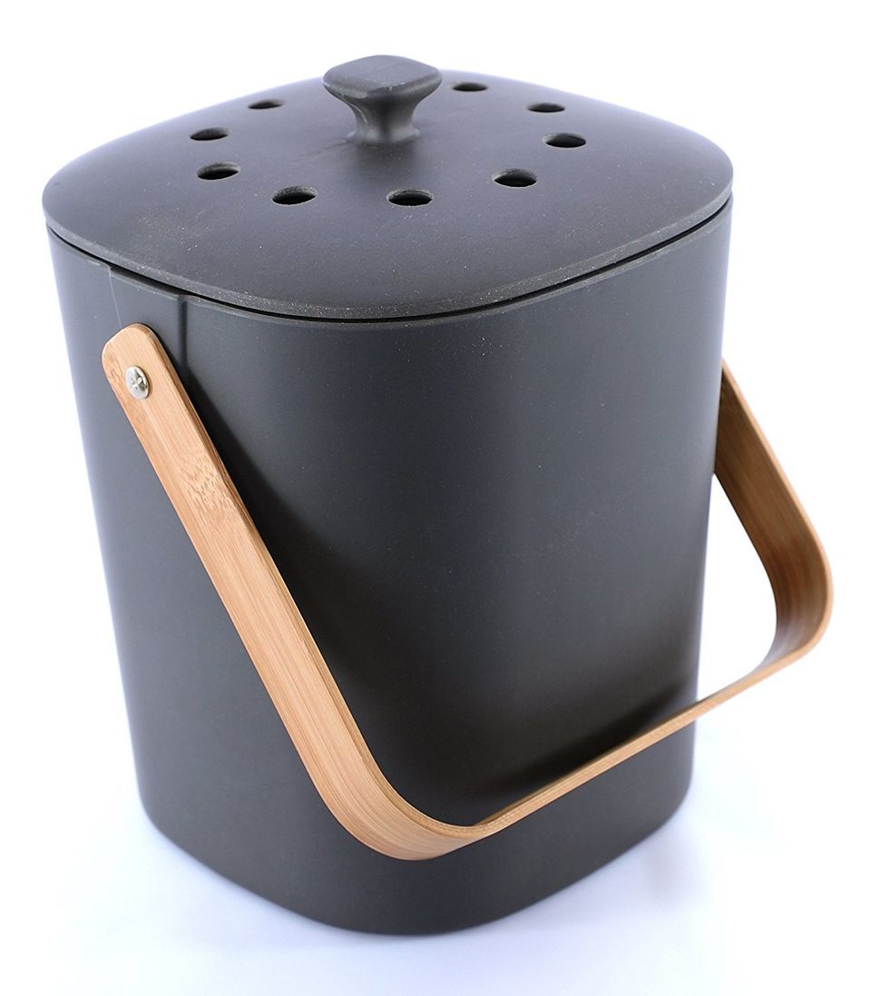 14 Stylish Compost Bins That Ll Look Right At Home In Your Kitchen Huffpost Life