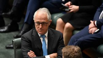 CANBERRA, AUSTRALIA - DECEMBER 07:  The Prime Minister Malcolm Turnbull voting in support of amendments to the marriage eqaulity bill at Parliament House on December 7, 2017 in Canberra, Australia. After the Marriage Equality Bill was passed by the Senate last week, 43 votes to 12, the House of Representatives is expected to pass the legislation on same-sex marriage by the end of the week. Australians voted 'Yes' in the Marriage Law Postal Survey for the law to be changed.  (Photo by Michael Masters/Getty Images)
