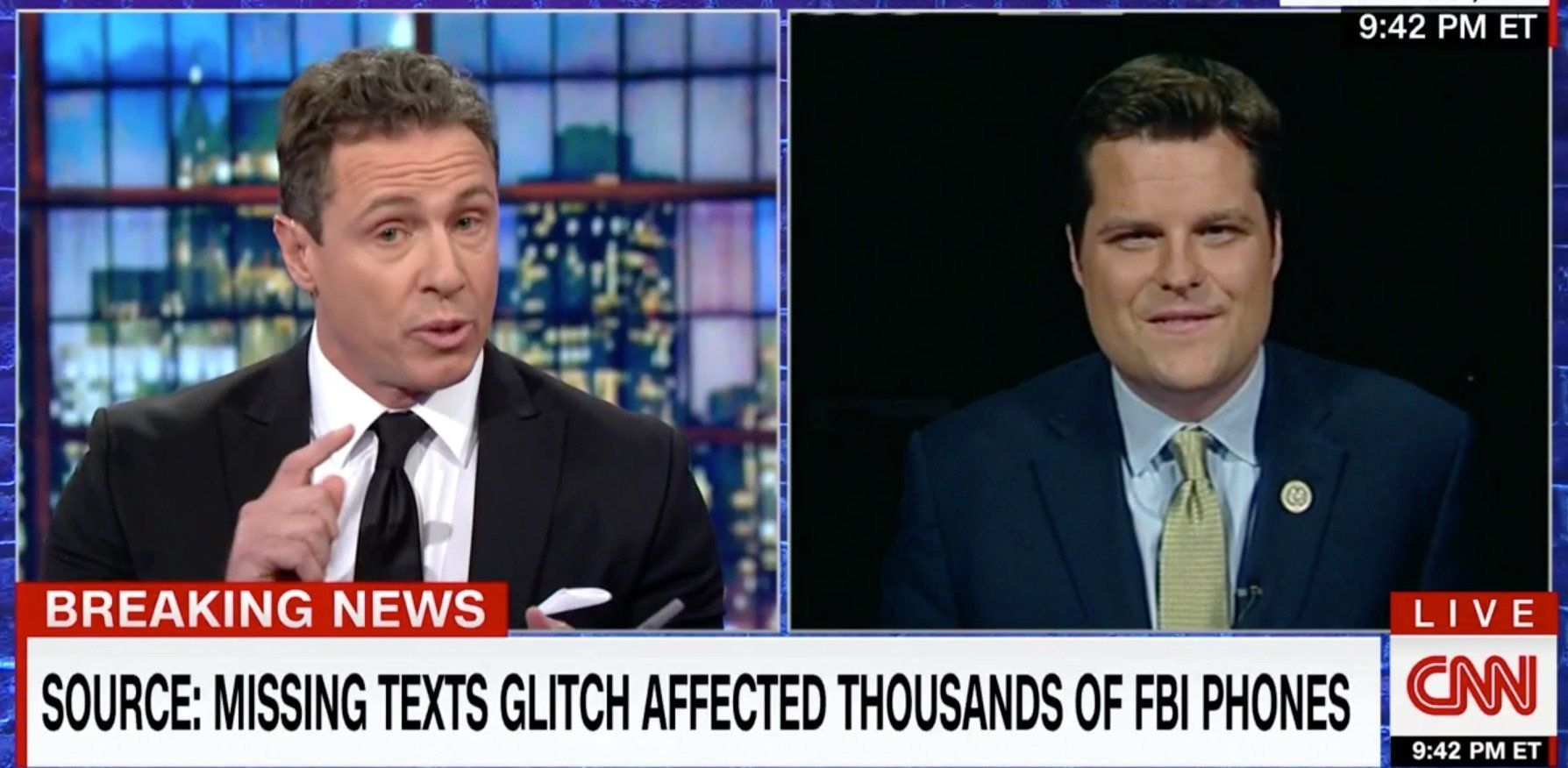 Chris Cuomo and Matt Gaetz