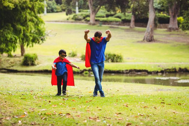 Mums And Dads Are Children's Superheroes, Poll