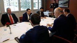 Συνάντηση Τσίπρα - Ράμα στο Νταβός: «Ανοίγει ο δρόμος για πλήρη ομαλοποίηση των διμερών