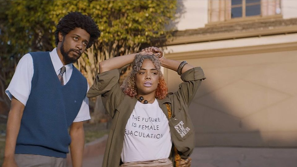 """We could build an entire culturaldiscussion aroundDanny Glover's career advice for Lakeith Stanfield in """"Sorry to"""