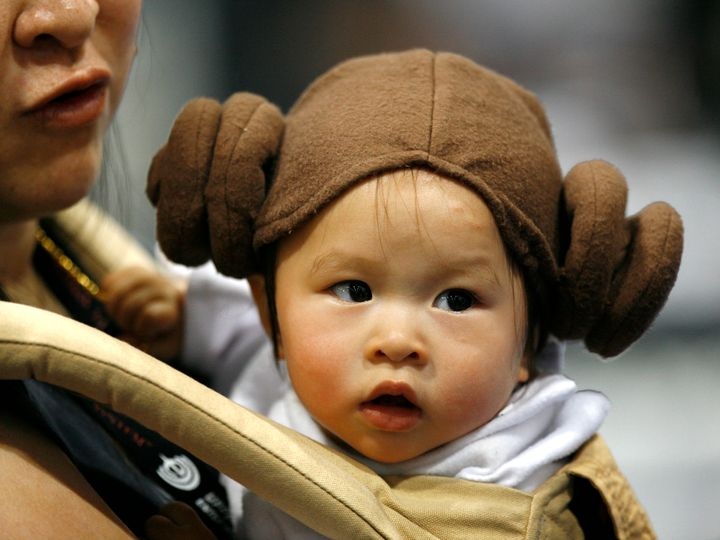 """Parents who love """"Star Wars"""" have honored the franchise throughtheir baby name choices."""