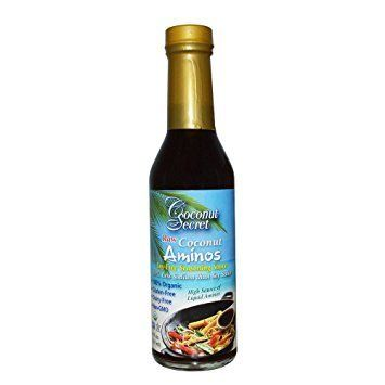 This soy-free sauce can be used in salad dressings, sautés, marinades, sauces and even with sushi. And, despite being