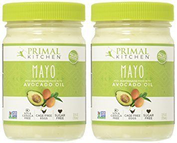 This mayo is made with avocado oil, organic eggs and vinegar from beets. Even if you don't eat much mayo normally,it's