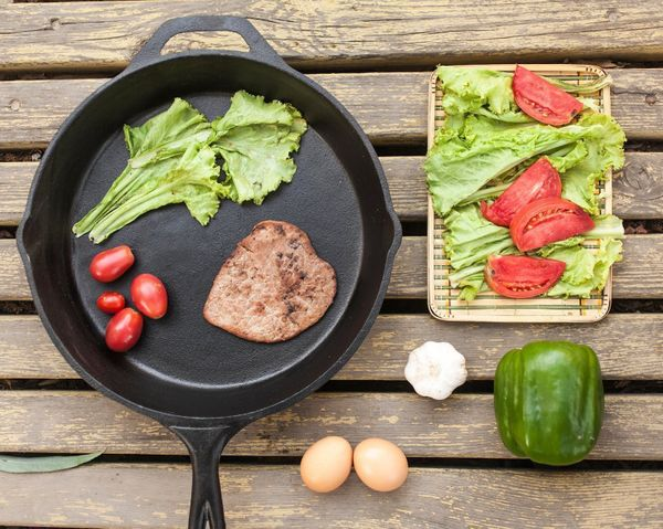 A cast iron skillet is a fun way to experiment with your favorite Whole30 recipes. Instead of baking short ribs, cook them in