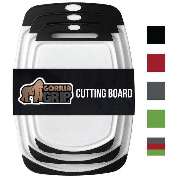 You'll be doing plenty of raw food prep, so having the right equipment is important. You'll want one cutting board designated