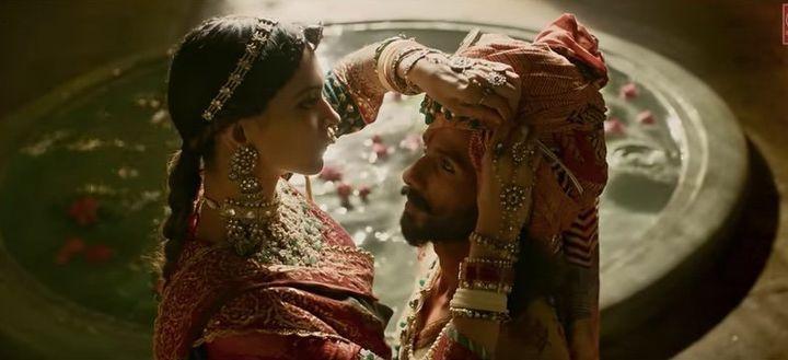 "A scene from ""Padmaavat."""
