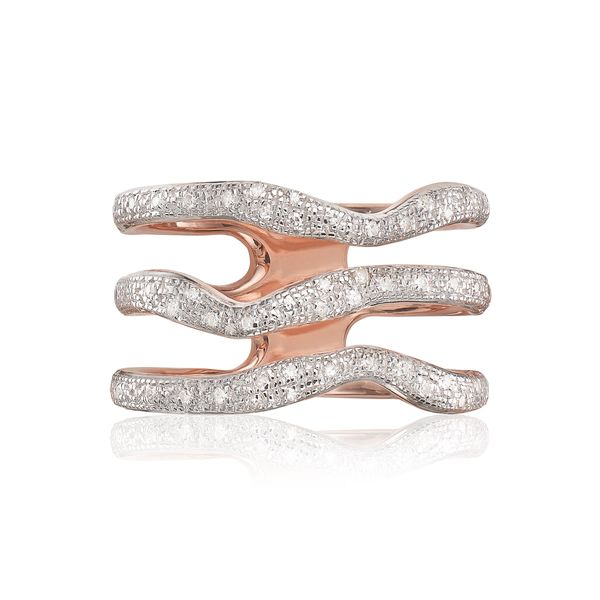 "Get it at <a href=""https://www.monicavinader.com/riva-diamond-wave-triple-ring/rose-gold-vermeil-riva-diamond-wave-triple-rin"