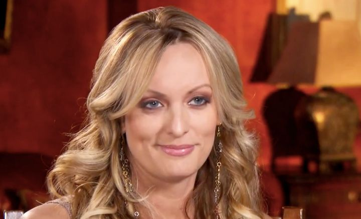 "Stormy Daniels on ""Inside Edition."""