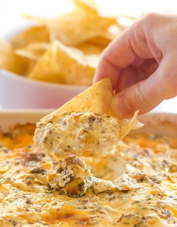 "<strong>Get the <a href=""https://www.browneyedbaker.com/hissy-fit-dip/"" target=""_blank"">Hissy Fit Dip</a> recipe from Brown E"