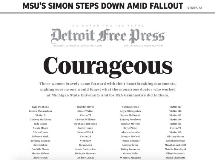 "A screenshot of the <a href=""https://twitter.com/freep/status/956370662788124673"" target=""_blank"">Detroit Free Press' front p"