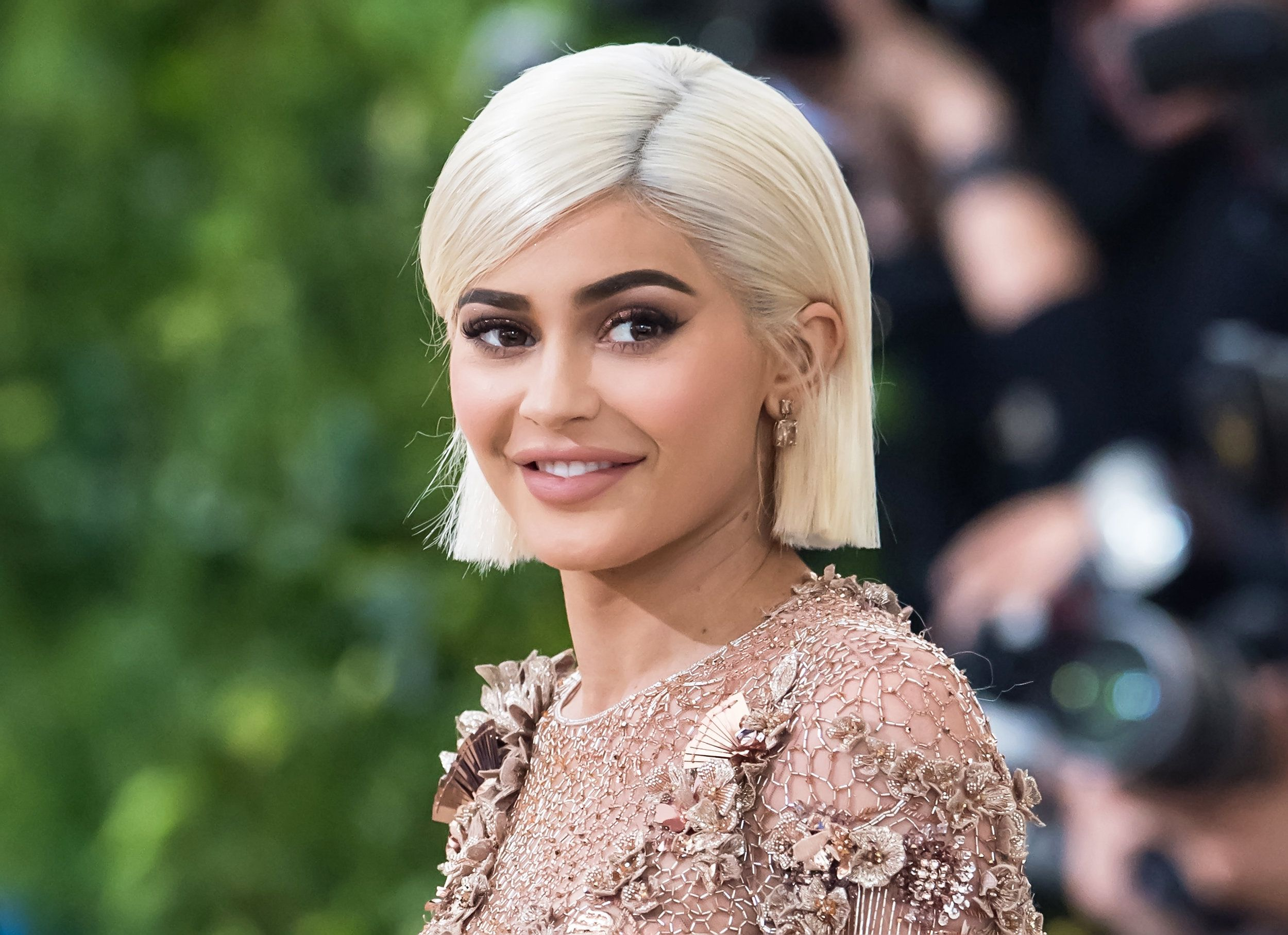 Kylie Jenner Spotted Out In Public For The First Time In