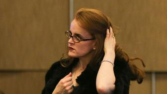 WASHINGTON, DC - MARCH 23: Billionaire Rebekah Mercer attends the 12th International Conference on Climate Change hosted by The Heartland Institute on March 23, 2017 in Washington, D.C.  (Photo by Oliver Contreras/For The Washington Post via Getty Images)