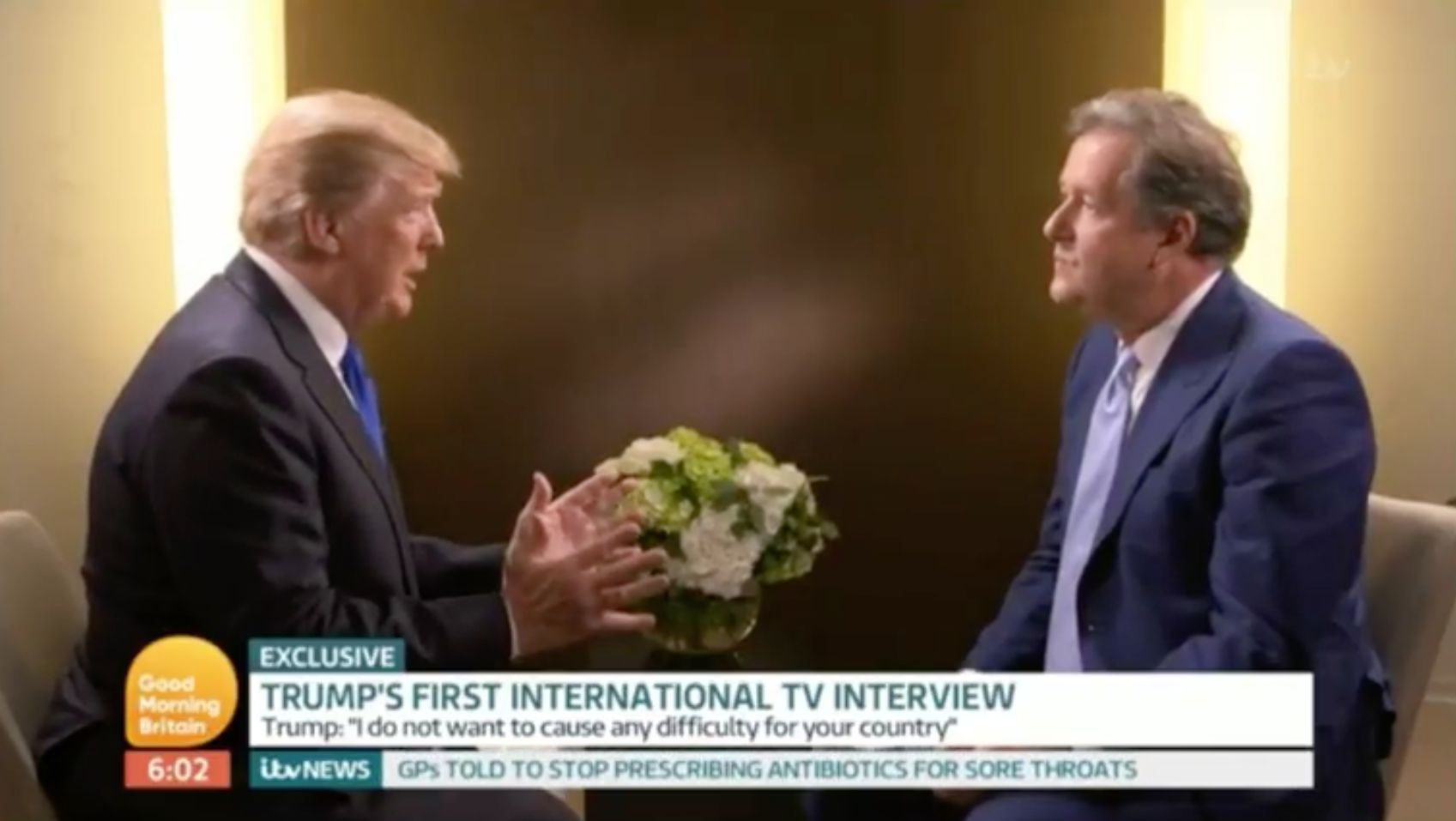 Donald Trump's Britain First Apology To Piers Morgan Is Missing An Actual