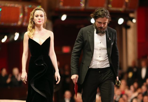 Brie Larson and Casey Affleck last