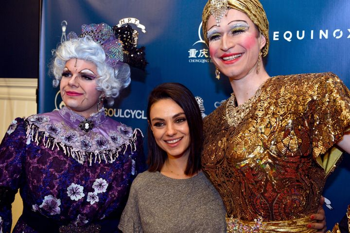 Hasty Pudding paid tribute on Thursday to actress Mila Kunis, a vocal advocate for gender equality, as the group announced it