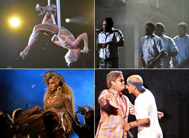 Grammys 2021: 32 Most Memorable Performances From Whitney Houston To