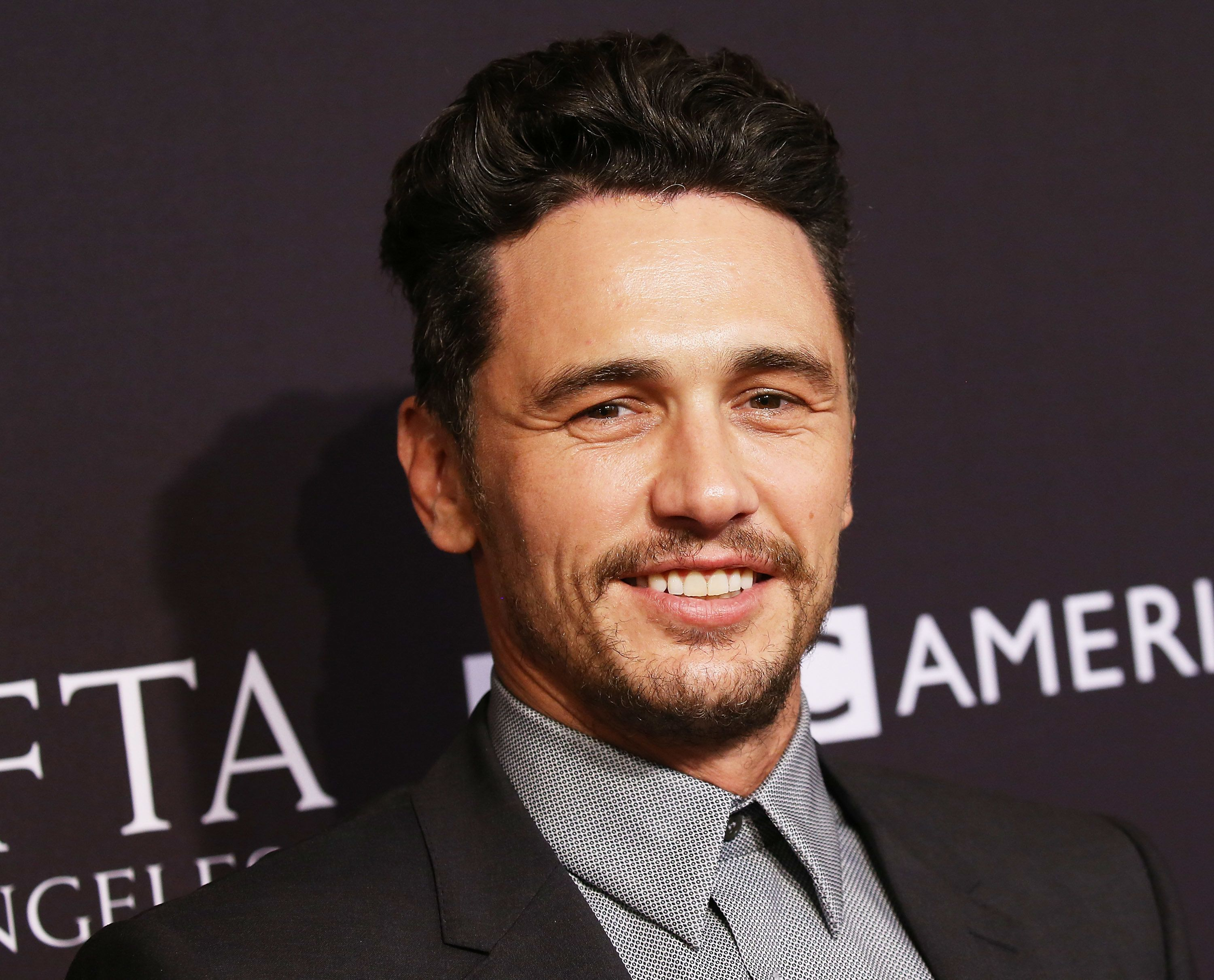James Franco, seen here on Jan. 6, was digitally removed from the cover of Vanity Fair's 2018 Hollywood issue.