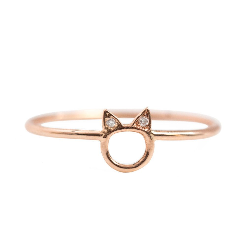 "Get it at <a href=""https://www.catbirdnyc.com/choupette-ring-rose-gold-9.html"" target=""_blank"">Catbird</a>."