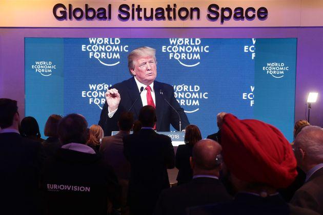 Τραμπ στο Νταβός: Ο κόσμος μάρτυρας της ανάδυσης μιας ισχυρής