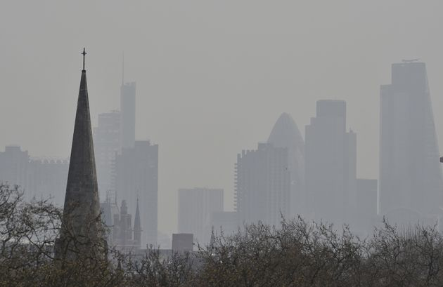 The UK's poorest communities are being hit the hardest by air pollution; London's financial district...