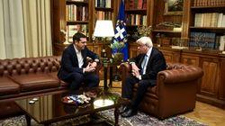 Τσίπρας στον Πρόεδρο της Δημοκρατίας: Ανάγκη να υπάρξει εθνική γραμμή στο