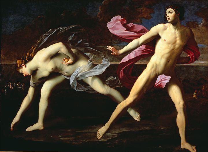 Ιπππομένης και Αταλάντη,Guido Reni,Museo di Capodimonte, Νάπολη