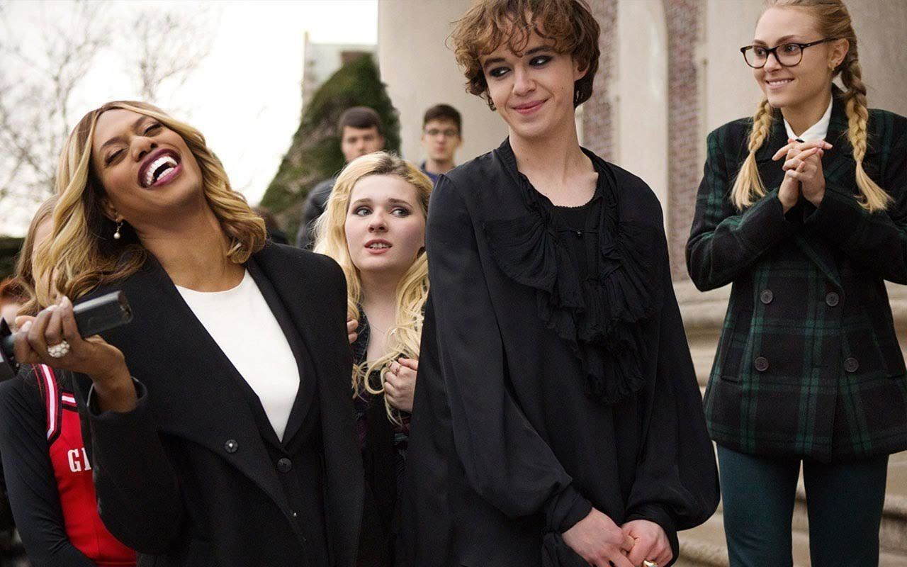 "Laverne Cox and Abigal Breslin also appear in ""Freakshow."""