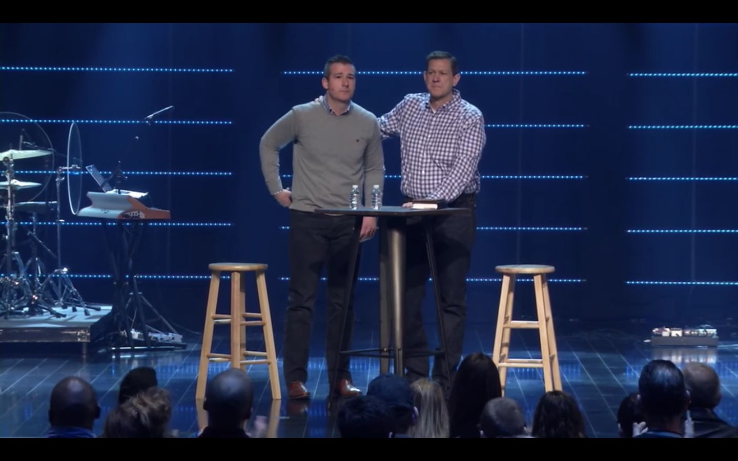 "The congregation at Highpoint Church gave pastor Andy Savage a standing ovation after he confessed to a ""sexual incident"