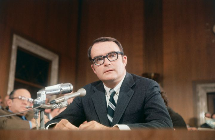 William Ruckelshaus in 1970.