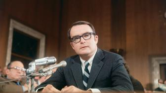 (Original Caption) Washington, D.C.: William D. Ruckelshaus, director of the Environmental Protection Agency.