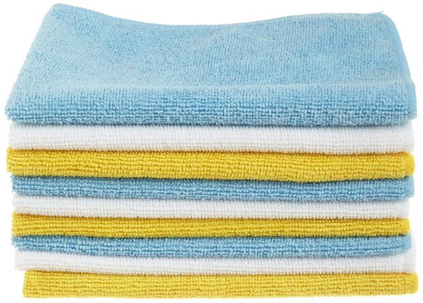 If you're trying to transition to sustainable paper towel alternatives, these microfiber cleaning cloths are the everyday tow