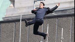 Καρέ-καρέ η σκηνή που ο Tom Cruise σπάει τον αστράγαλό του στα γυρίσματα