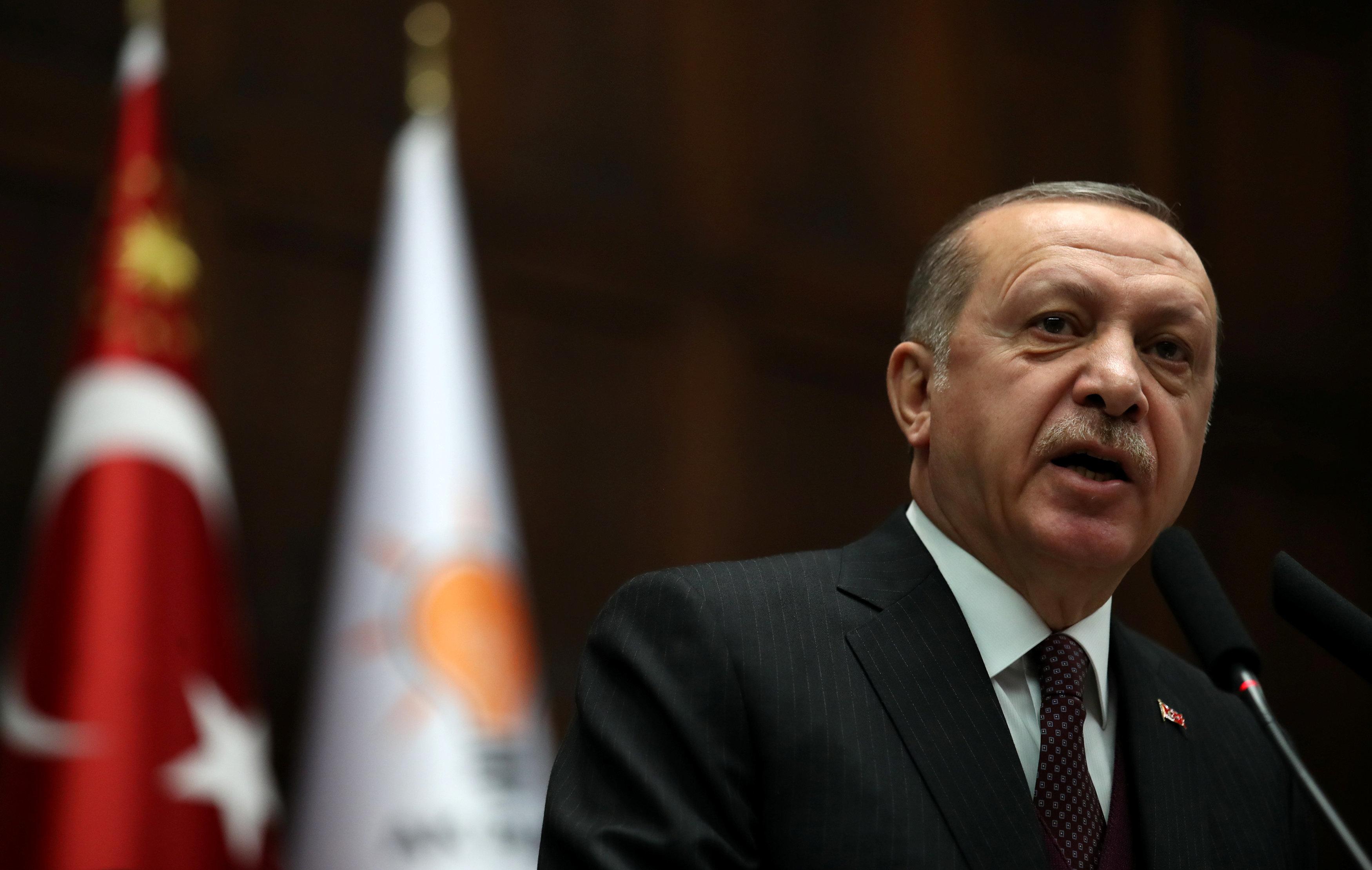 Αμετακίνητος ο Ερντογάν: Οι τουρκικές δυνάμεις θα καθαρίσουν από τους τρομοκράτες τα σύνορα με τη
