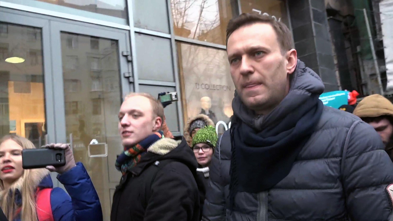 Ρωσία: Αφέθηκε ελεύθερος ο ηγέτης της αντιπολίτευσης Αλεξέι