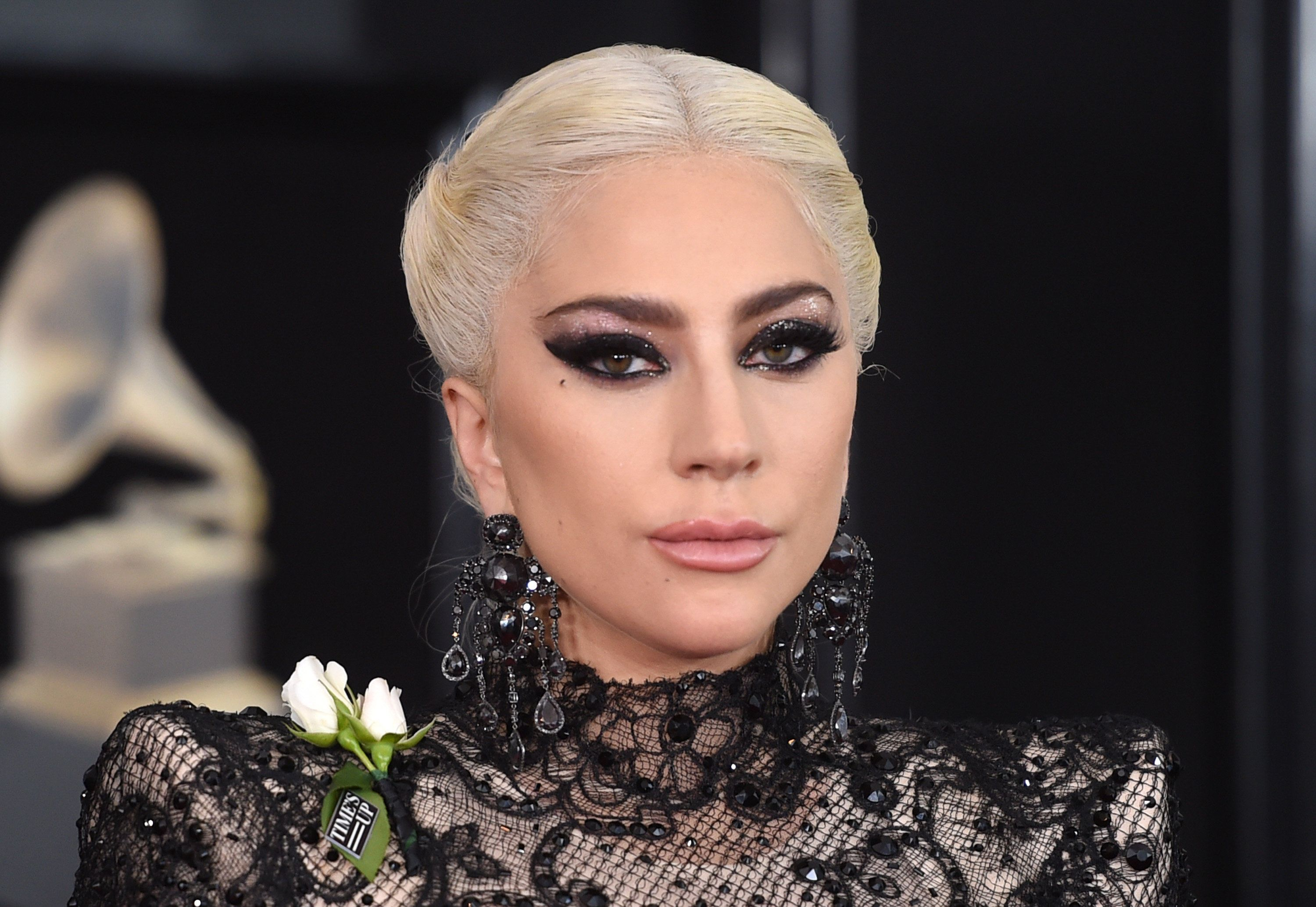 NEW YORK, NY - JANUARY 28:  Recording artist Lady Gaga attends the 60th Annual GRAMMY Awards at Madison Square Garden on January 28, 2018 in New York City.  (Photo by Jamie McCarthy/Getty Images)